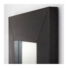 Mongstad mirror black brown espejos de cuerpo entero for A que altura colgar un espejo de cuerpo entero