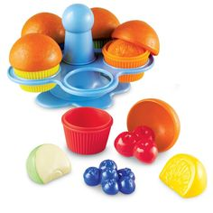 Amazon.com: Learning Resources Smart Snacks Peek-a-boo Color Muffins: Toys & Games