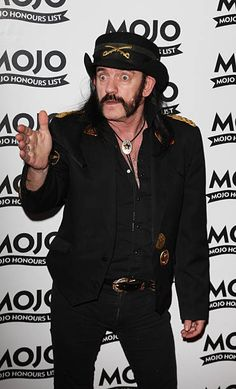 Lemmy Kilmister From Motorhead Arrives At The Mojo Honours List 2008 Award Ceremony At The Brewery On June 16 2008 In London