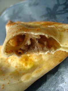 Baked Banana Spice Wontons - breakfast idea!