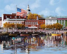 Annapolis, Maryland is a beautiful historic seaport that's easily explored by water