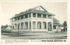 Daressalam - Stationsgeschichte im ehemaligen Deutsch-Ostafrika