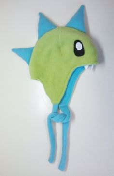 How to make a baby hat. Fleece Dino Hat - Step 13