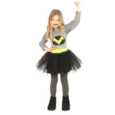 Disfraz de Batwoman Infantil #disfraces #carnaval #novedades2016