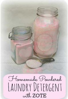 Home-made Powdered Laundry Detergent Using Zote (2.5 cents Per load)