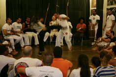 Roda de Capoeira no studioteambox -  Lisboa