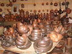 Ceramica de Pomaire en Chile.