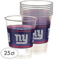 NFL New York Giants Party Supplies - Party City