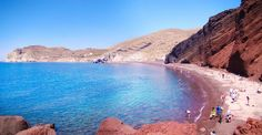 Red-Beach-Santorini, Greece on the list of the 15 Best Places in the World to Swim