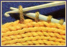 LES FINITIONS                                                                                                                                                                                 Plus Knitting Stiches, Crochet Stitches, Baby Knitting, Knitting Patterns, Diy Crochet, Knit Beanie, Tool Design, Lana, Ravelry