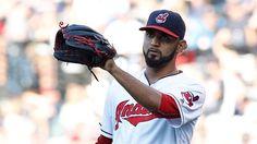 #MLB: Lesión en el antebrazo pondría en duda postemporada para el Quisqueyano Danny Salazar