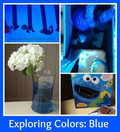LalyMom Kids Crafts And Activities Exploring Blue