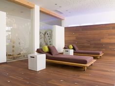 Coral OAK Vulcano, white brushed, natural oil I HOTEL GUT BRANDLHOF I natural wood floors I mafi.com