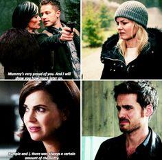"Parallels   Regina and Killian - 6 * 7 ""Heartless"""