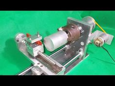 Homemade Wood Metal Mini Mill Lathe DIY XYZ Axis Slide Taig Milling Rout...
