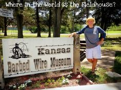 Where in the world is the Fieldhouse? In Kansas at the Barbed Wire Museum of course! On everyone's #BucketList? Thanks Tammy!