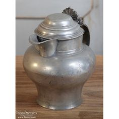 Early 19th Century Antique Pewter Pitcher