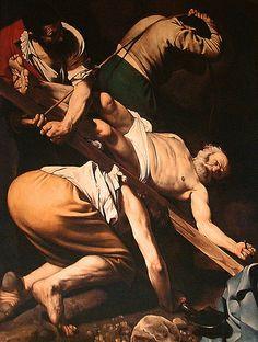Crucifixion of Saint Peter, Caravaggio Michelangelo Merisi (o Amerighi), noto come il CARAVAGGIO (Milano, 29 settembre 1571 – Porto Ercole, 18 luglio 1610) #TuscanyAgriturismoGiratola
