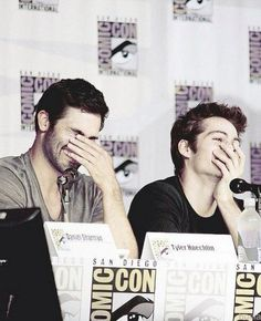 Dylan O'Brien and Tyler Hoechlin   @celebritiies