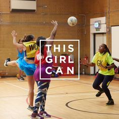 Get on the court commitment free with the flexibility of Netball Now! #ThisGirlCan