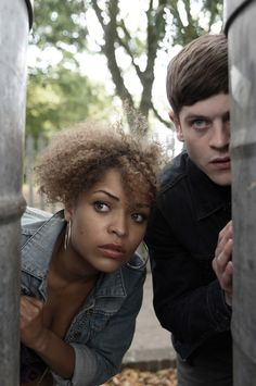 Misfits | Iwan Rheon & Antonia Thomas | Simon Bellamy & Alisha Daniels