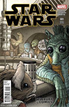 Star Wars 1 Newbury Comics