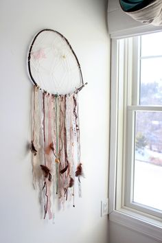 The Forge: DIY: how to make a vintage lace dreamcatcher
