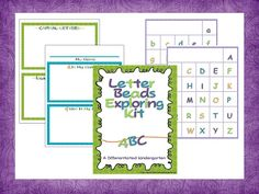 A Differentiated Kindergarten: Back To School Blog Hop -Beads and Freebies!