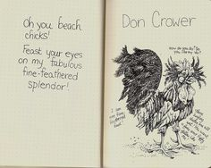 Page 6-Don Crower by molossus, who says Life Imitates Doodles, via Flickr