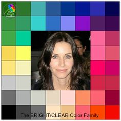 Take the Free Color Analysis quiz to find your Tonal color family - the palette of colors that allow you to always look your best Spring Color Palette, Colour Pallette, Deep Winter Colors, Clear Winter, Seasonal Color Analysis, Dark Autumn, Color Me Beautiful, Winter Makeup, Bright Spring