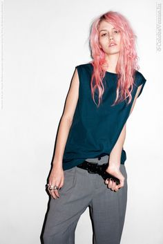 Charlotte Free for Purple Fashion magazine (SpringSummer 2012) by Terry Richardson photoshoot