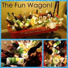 [ Great Fundraising Tool Donated Liquor And Wagon Raffled ] - Best Free Home Design Idea & Inspiration Fundraiser Baskets, Raffle Baskets, Liquor Gift Baskets, Auction Projects, Auction Ideas, Beer Basket, Chinese Auction, Theme Baskets, Silent Auction Baskets