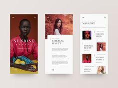 (App Inspiration) 50 AWESOME Examples of Minimal Mobile UI designYou can find Mobile web design and more on our website.(App Inspiration) 50 AWESOME Examples of. Web Design Trends, Design Websites, App Ui Design, Interface Design, Resume Design, User Interface, Banner Web Design, Layout Design, Web Layout