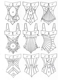 All Things Sewing and Pattern Making This is awesome, I wan Iris Folding Templates, Iris Paper Folding, Iris Folding Pattern, Pattern Drafting, Sewing Hacks, Sewing Crafts, Sewing Projects, Techniques Couture, Sewing Techniques