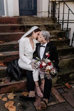Wedding Looks, Dream Wedding, Wedding Stuff, Wedding Ideas, Pub Wedding Reception, Top Destination Weddings, Bridal Jumpsuit, Wedding Highlights, London Wedding