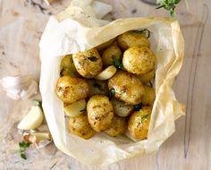Cornish New Potatoes En Papillotte