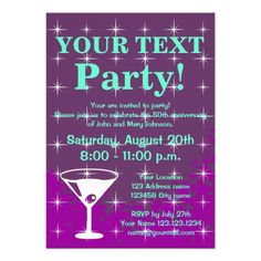 Sparkly party invitations with cocktail glass in each seller & make purchase online for cheap. Choose the best price and best promotion as you thing Secure Checkout you can trust Buy bestShopping          Sparkly party invitations with cocktail glass please follow the link to see ful...