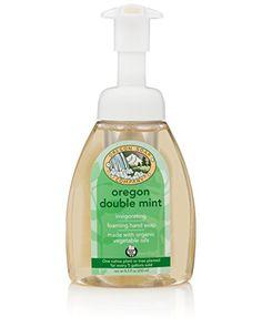 Oregon Soap Company  Foaming Castile Hand Soap Made with USDA Certified Organic Oils 83 oz 83 Fl Oz Oregon Double Mint * Visit the image link more details.