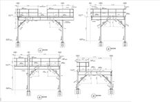 Browse through steel detailing drawings, framing plans, and reports for previous projects. Shop drawings can be customized to meet the needs of the steel fabricator. Steel Drawing, Structural Drawing, Steel Detail, Metal Stairs, Floor Framing, Detailed Drawings, Steel Structure, How To Plan, Engineering