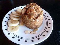 Banana Nut Cinnamon Muffin in a Mug - gluten and dairy free