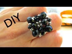 This week, Kelly teaches a Pillow Top Ring. Diy Beaded Rings, Diy Rings, Beaded Jewelry, Beaded Bracelets, Jewelry Making Tutorials, Beading Tutorials, Handmade Rings, Handmade Jewelry, Ring Tutorial