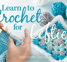 After struggling to learn to crochet from a right-handed person, I took this video class and suddenly everything became easy, natural and fun! If you are left-handed and want to learn to crochet properly - take this video class! Crochet Vs Knit, Crochet Box Stitch, Learn To Crochet, Hand Crochet, Crochet Stitches, Crochet Baby, Crochet Patterns For Beginners, Knitting For Beginners, Crochet Blanket Patterns