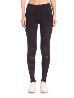 ALO YOGA Moto Leggings. #aloyoga #cloth #leggings