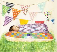 Vauvailoa, 2014 on Behance Picnic Blanket, Outdoor Blanket, Book Gifts, Illustration Art, Illustrations, Cute Gifts, New Baby Products, My Arts, Behance