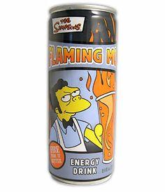 Flaming Moe's Energy Drink