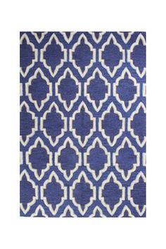 Mercer Wool Rug - Navy