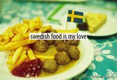 Learn to cook Swedish Food! Swedish Dishes, Swedish Recipes, Scandinavian Food, Learn To Cook, Pavlova, International Recipes, Cooking Classes, Yummy Food, Yummy Yummy