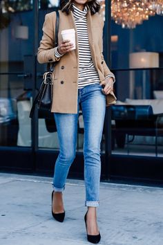 7 Flattering Fall Outfits for Every Body Type #purewow #fashion #shoppable