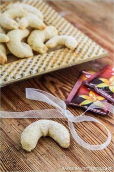 Fettarme Vanillekipferl ohne Nüsse und Ei - Backen macht glücklich