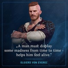 "Olgierd von Everec from ""Heart of Stone"", ""The Witcher"" (polish game - ""Wiedźmin"")"